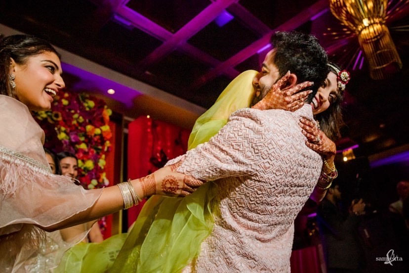 Armaan Jain's mehendi ceremony