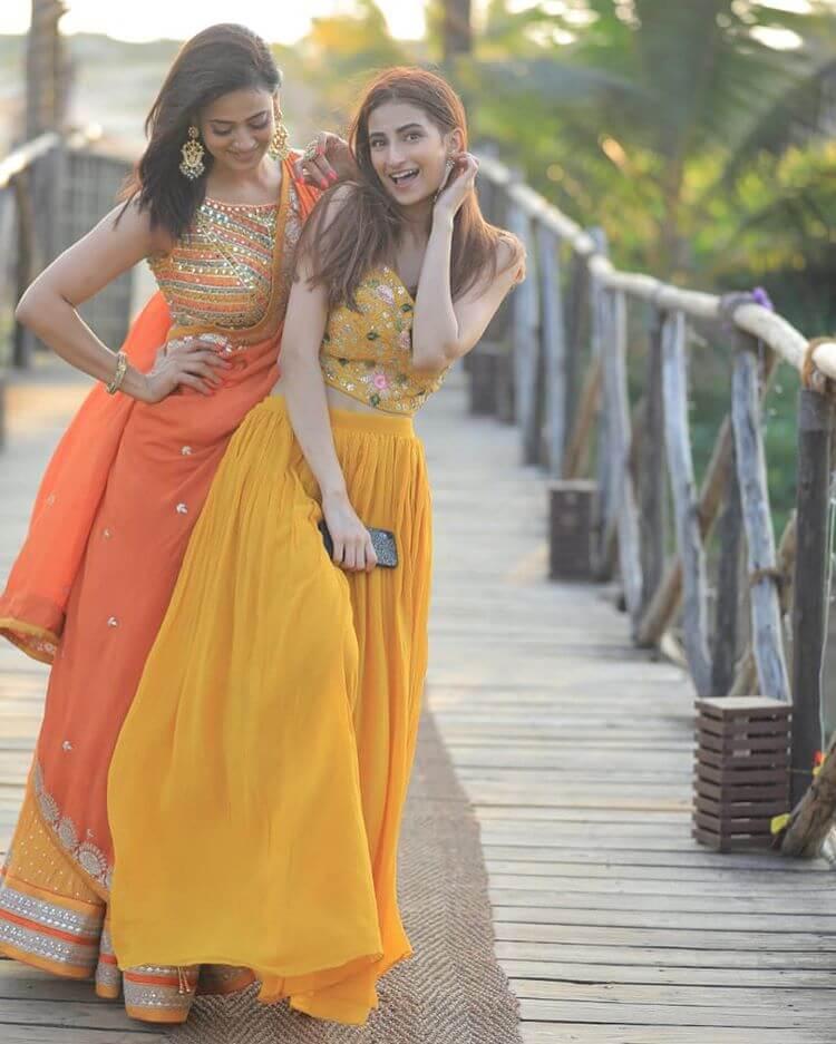 haldi outfit ideas