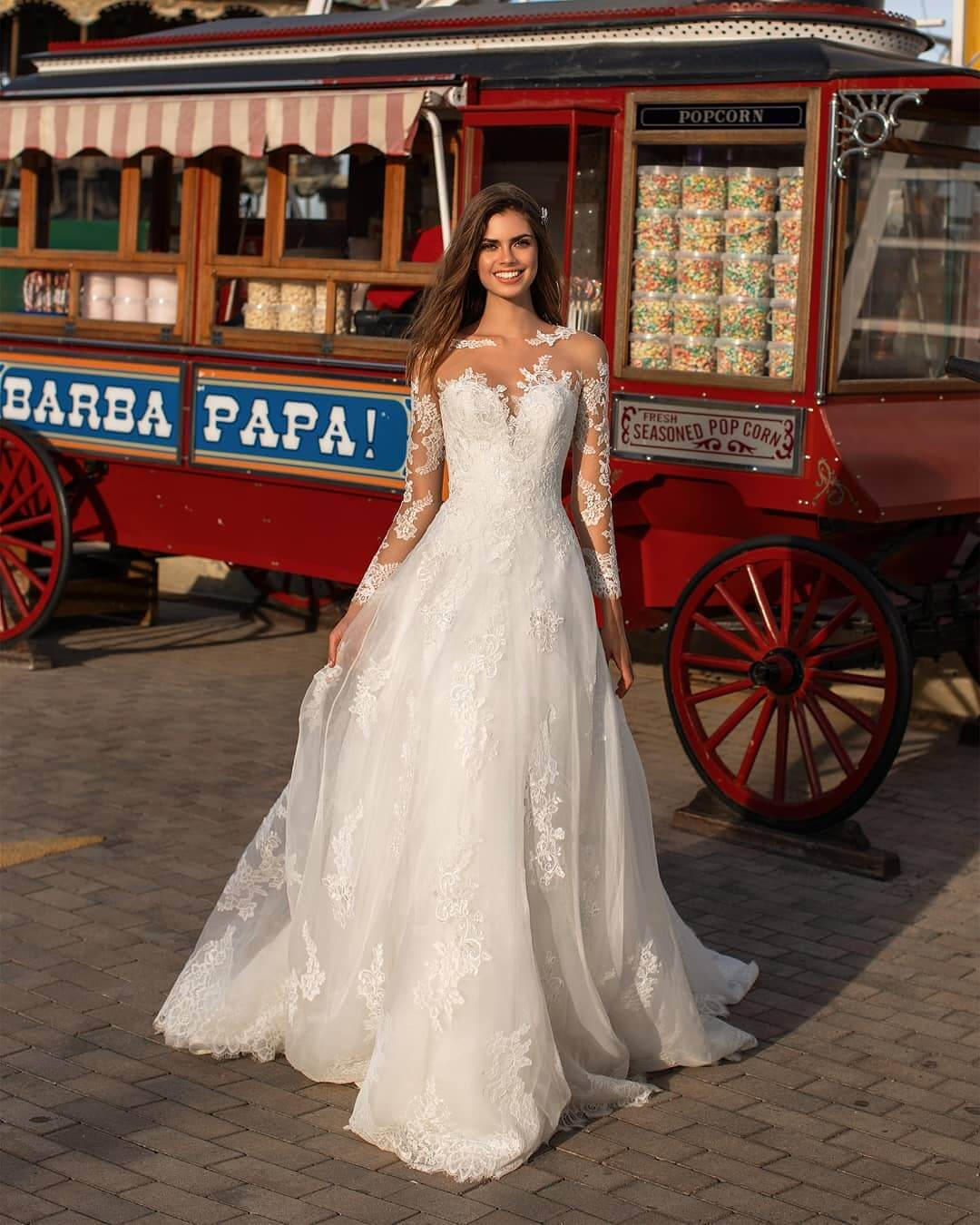 Christian bridal gowns