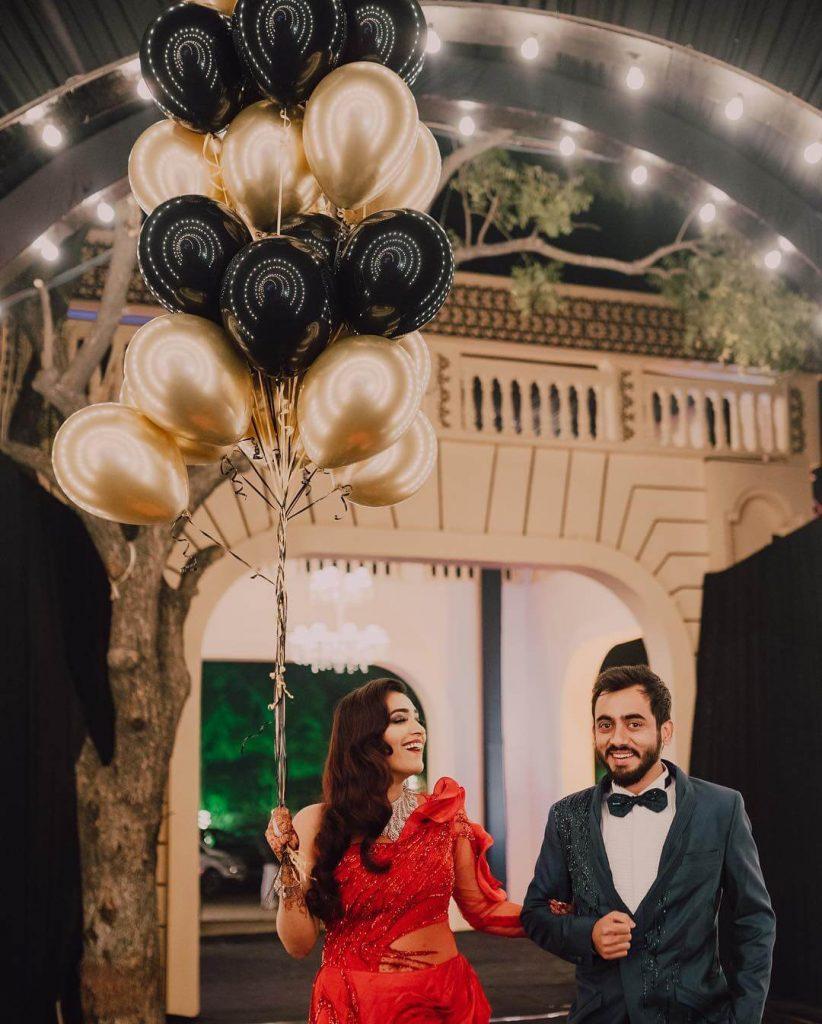 balloon entry ideas