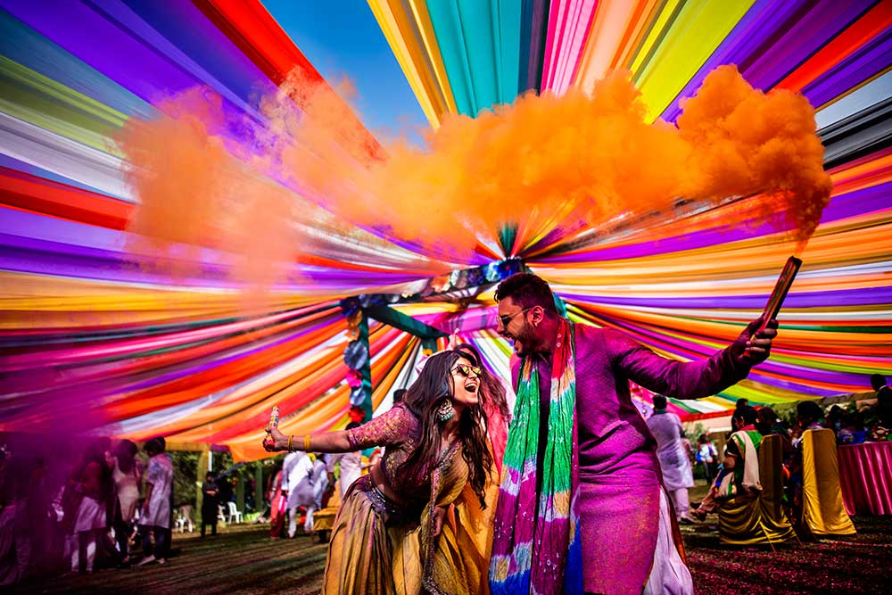First Holi After Marriage