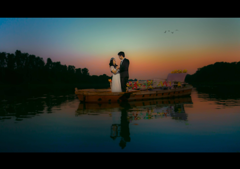 pre wedding at Gomti River