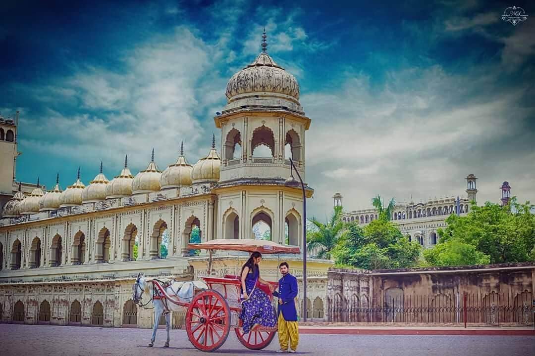 pre wedding shoot in Lucknow