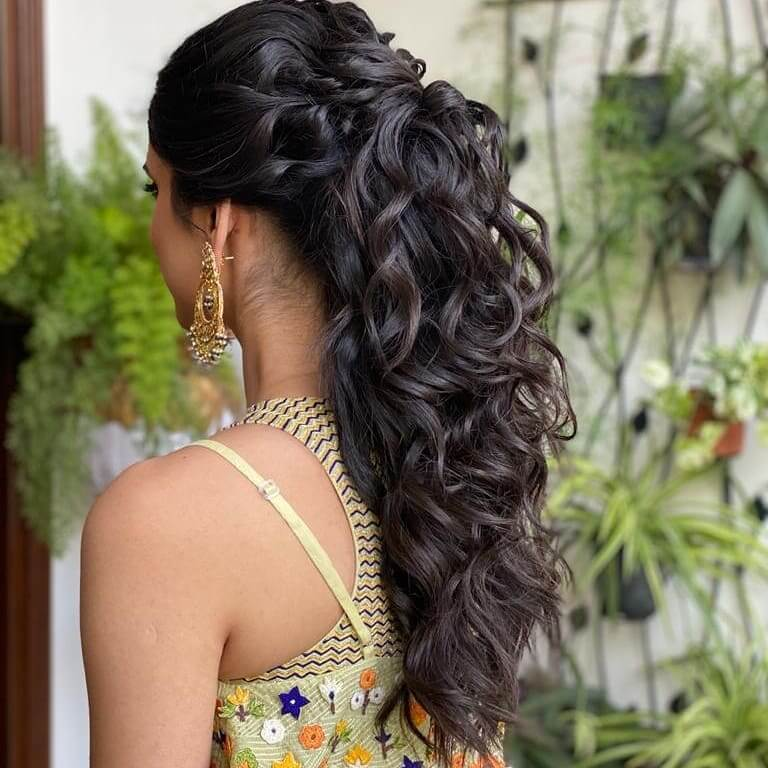 non floral hairstyle
