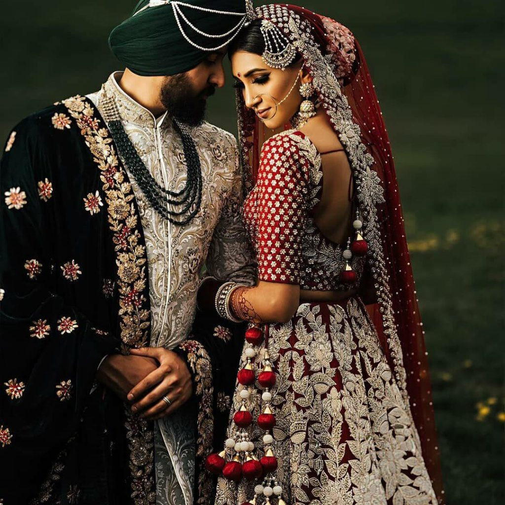 bridal outfit for nri brides