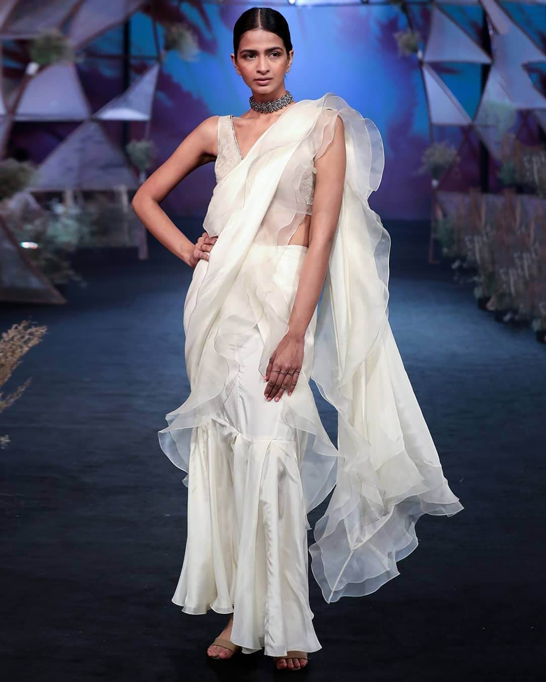 trending wedding saree