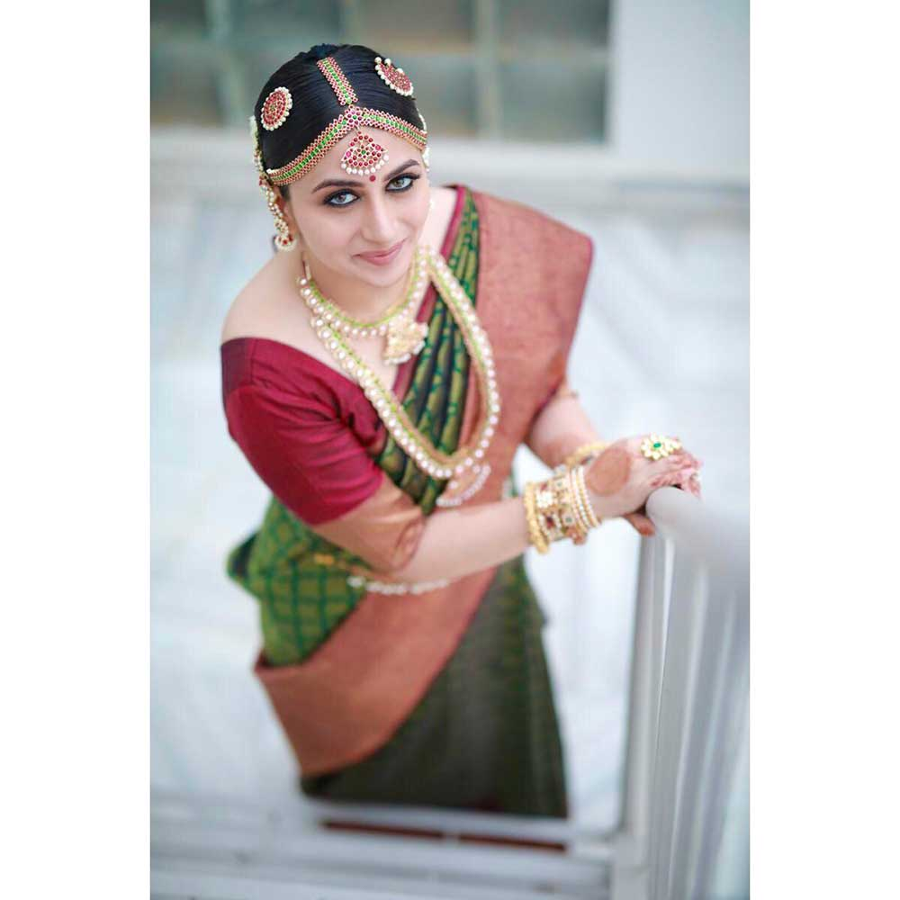 South Indian Bridal Hair Accessories