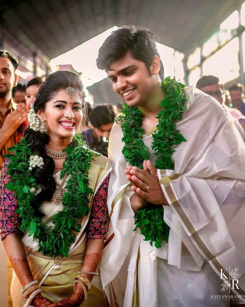 south indian wedding attires