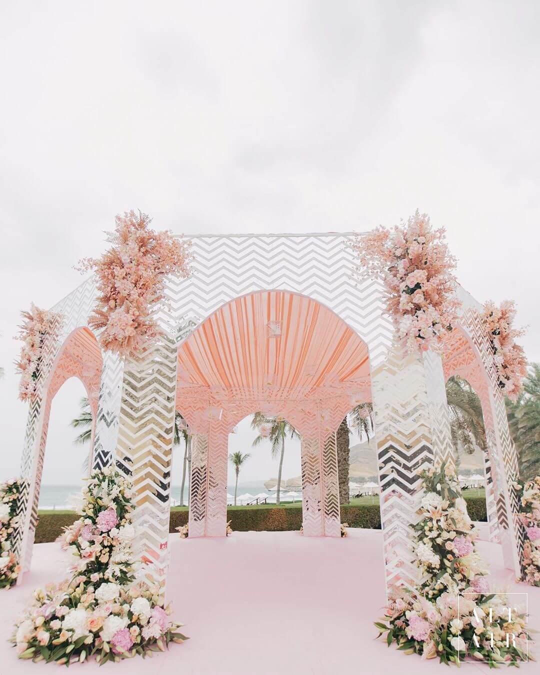 mandap decor ideas, monsoon wedding ideas