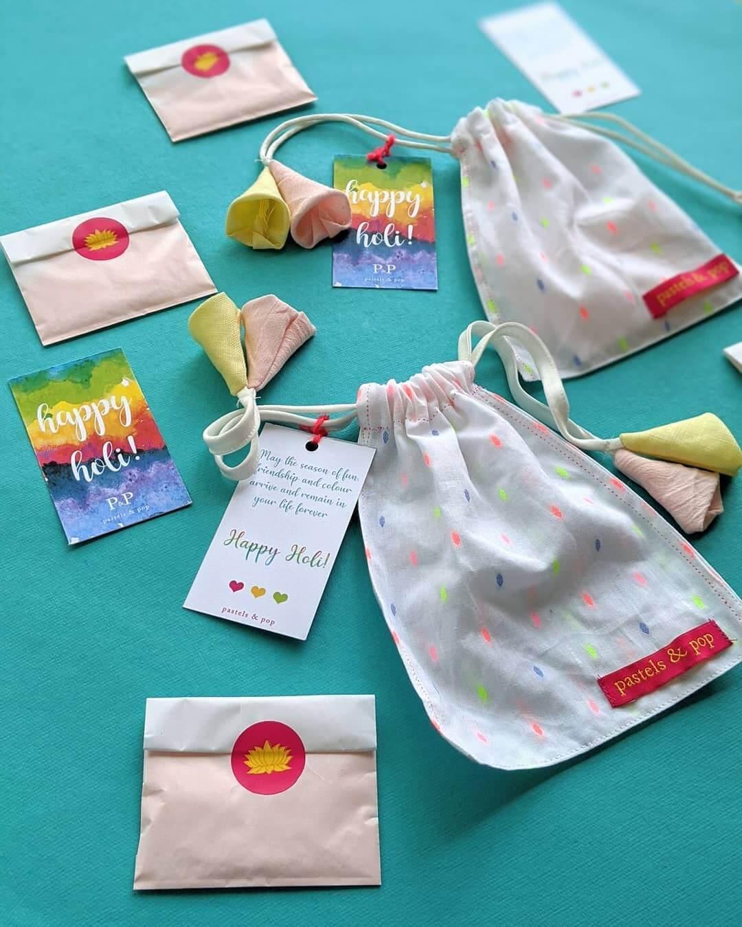 DIY potli bags