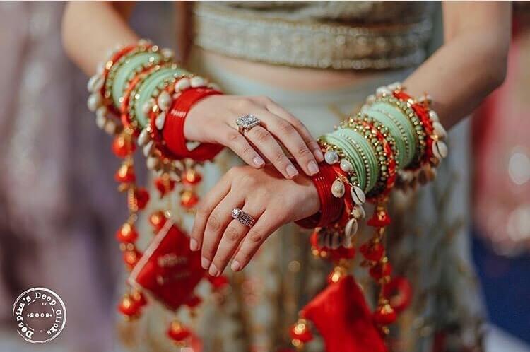 bridal chooda ideas