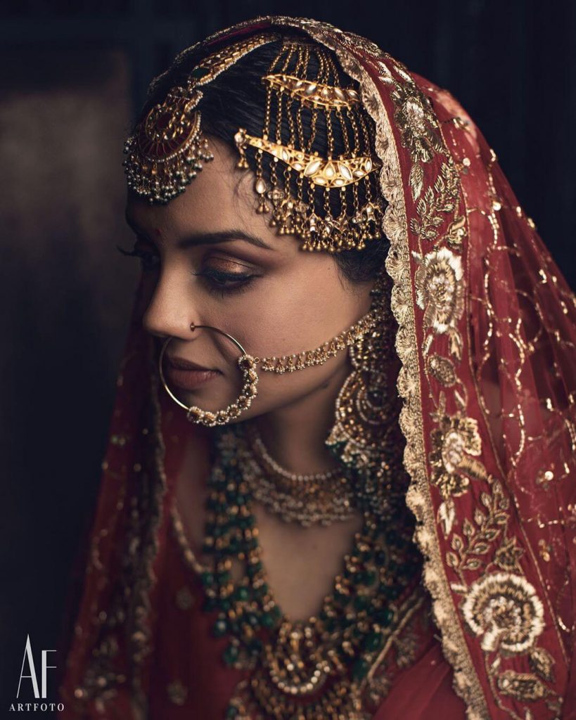 bridal dupattas