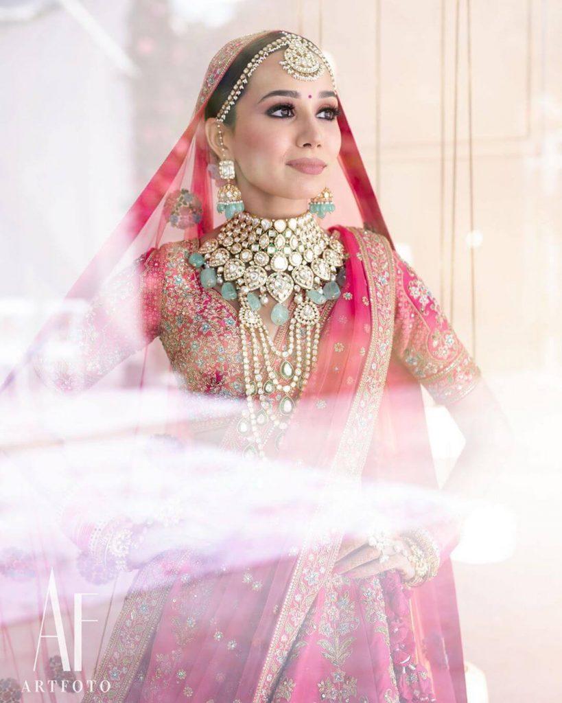 Offbeat Bridal Jewellery Colors