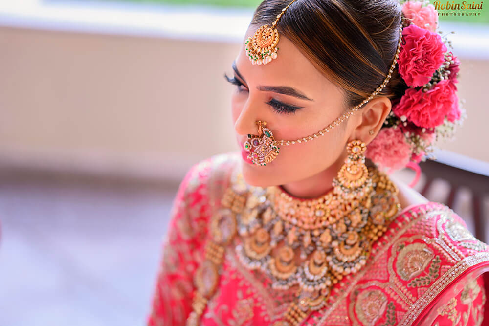 Offbeat Bridal Jewellery Colors