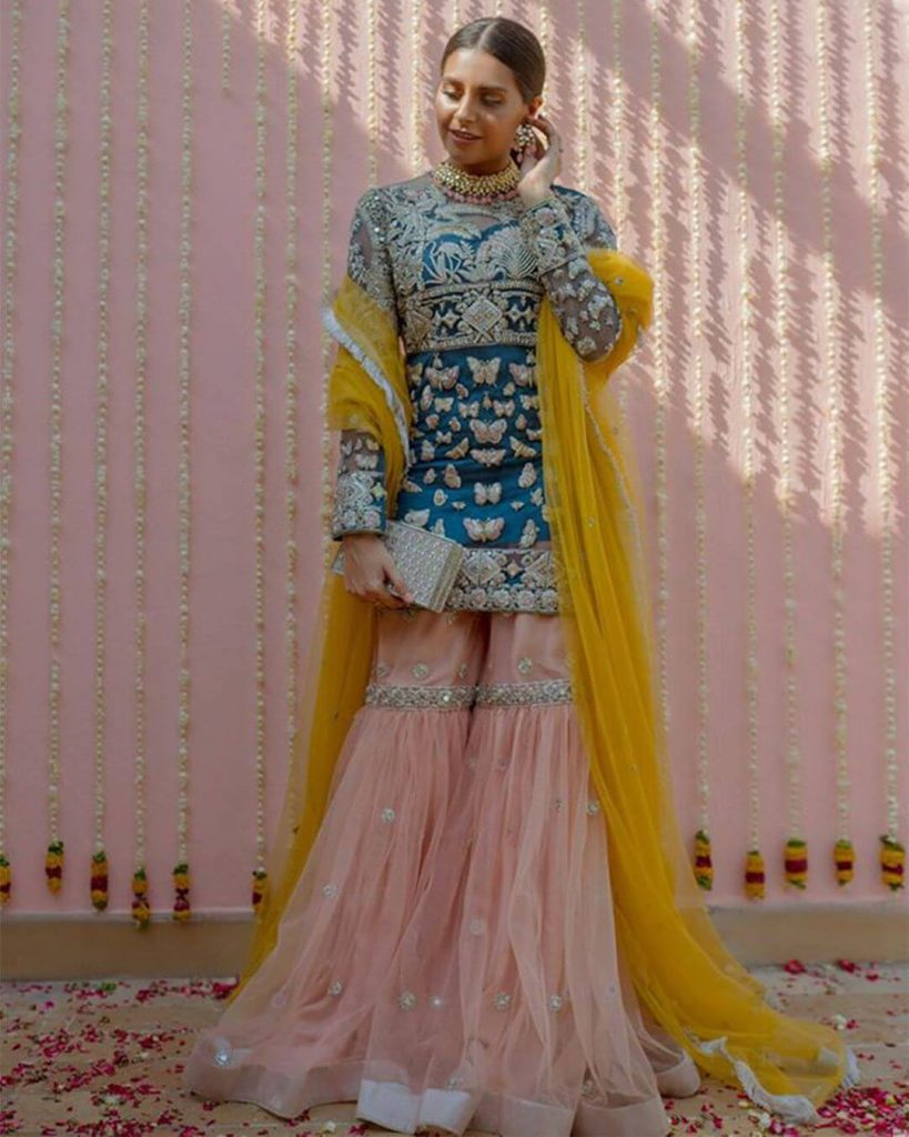 mehndi outfits inspiration