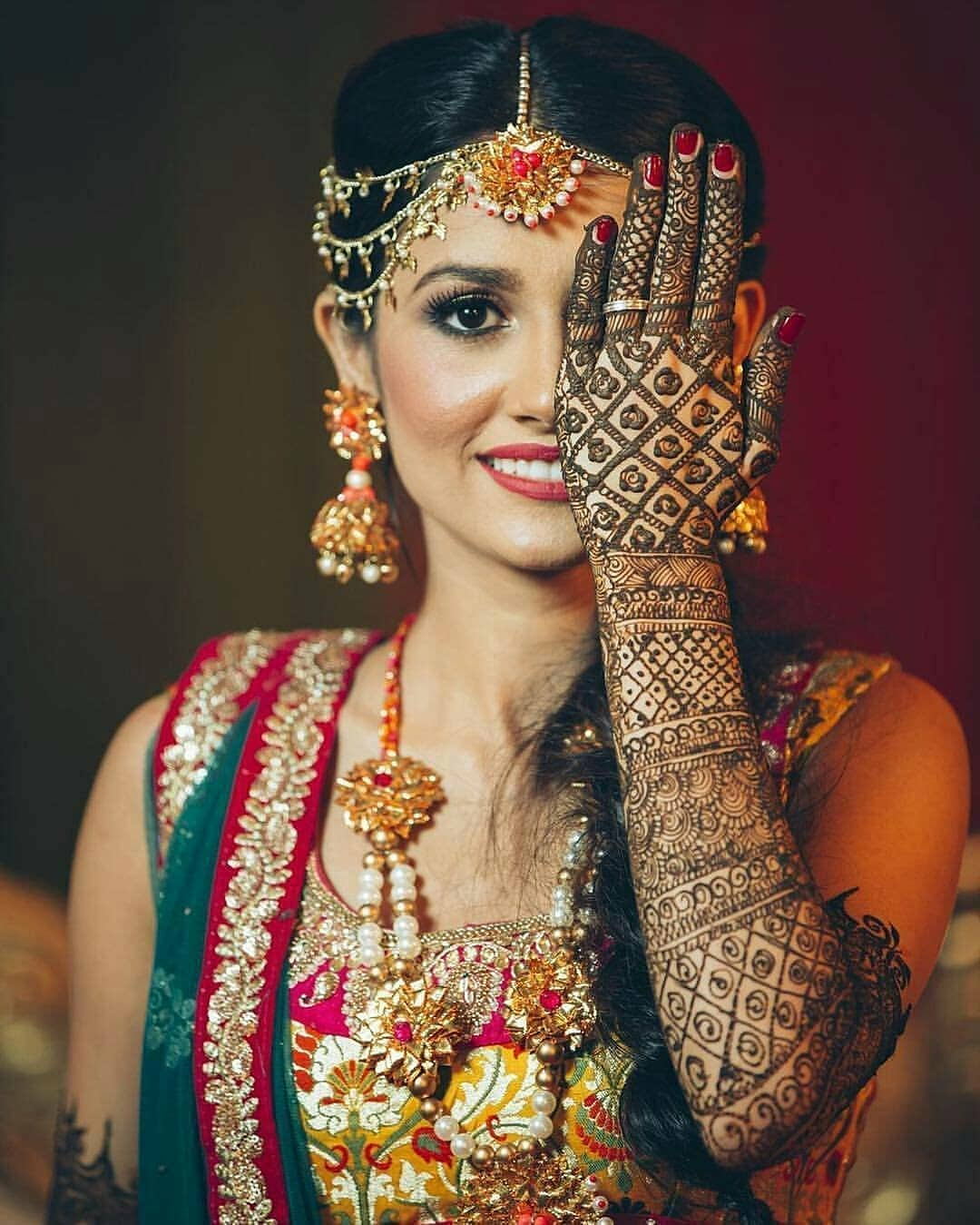 mehendi jewellery ideas