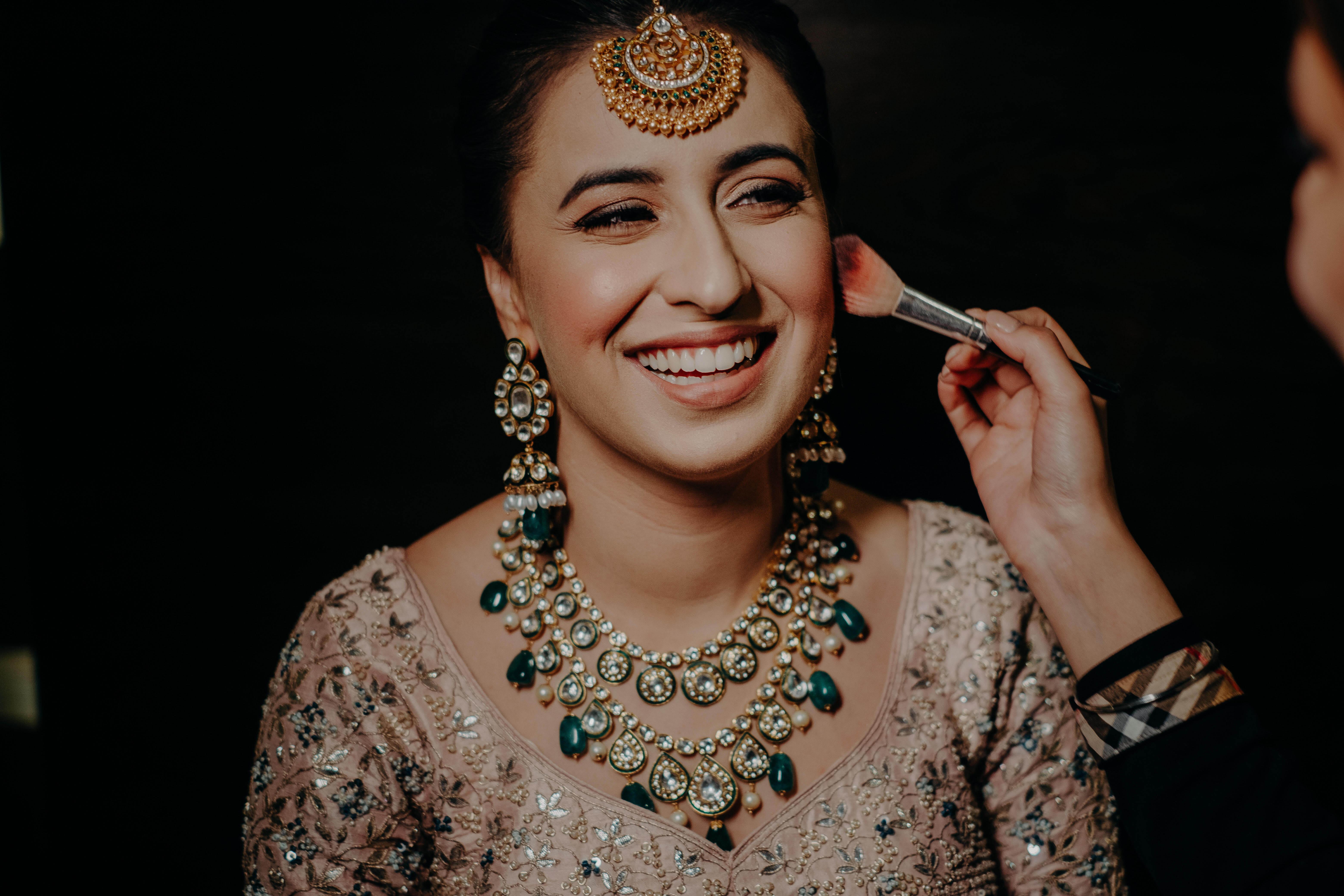 HD bridal makeup