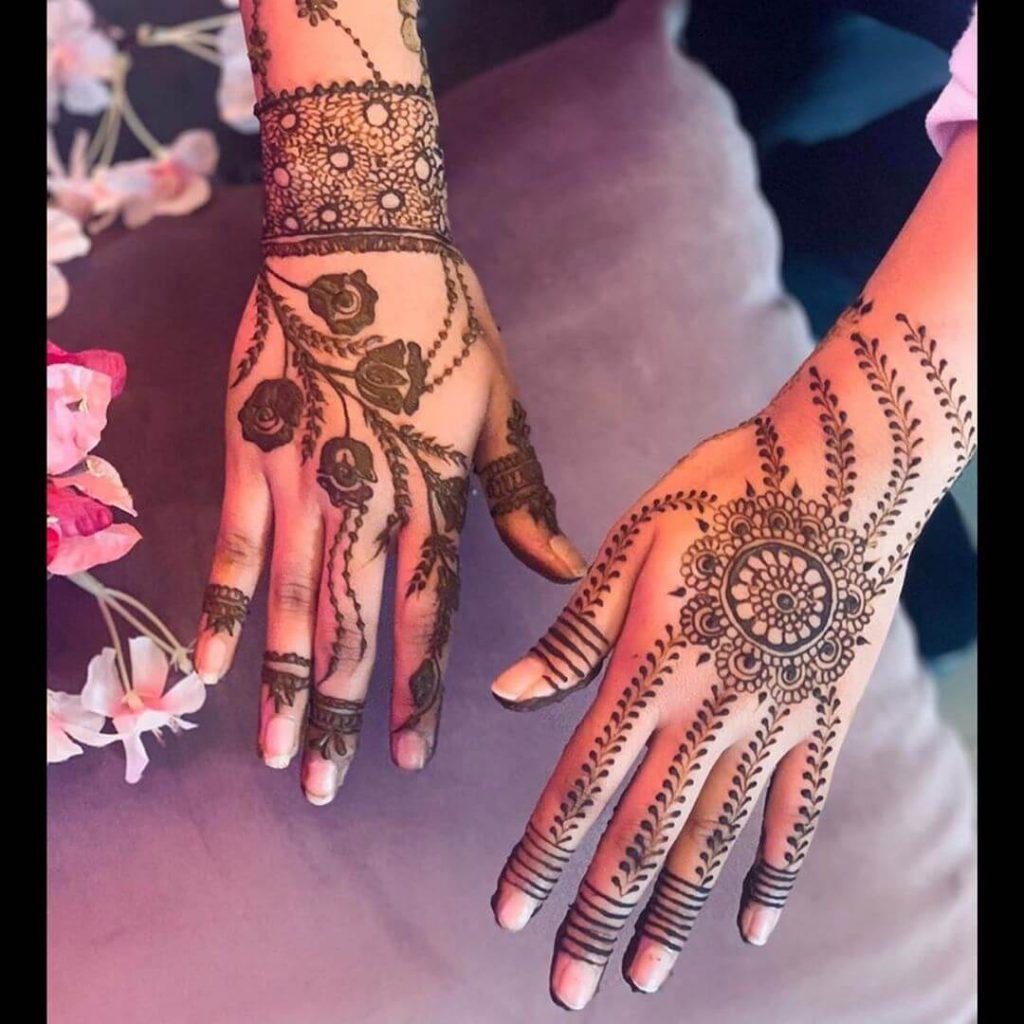 henna designs for brides