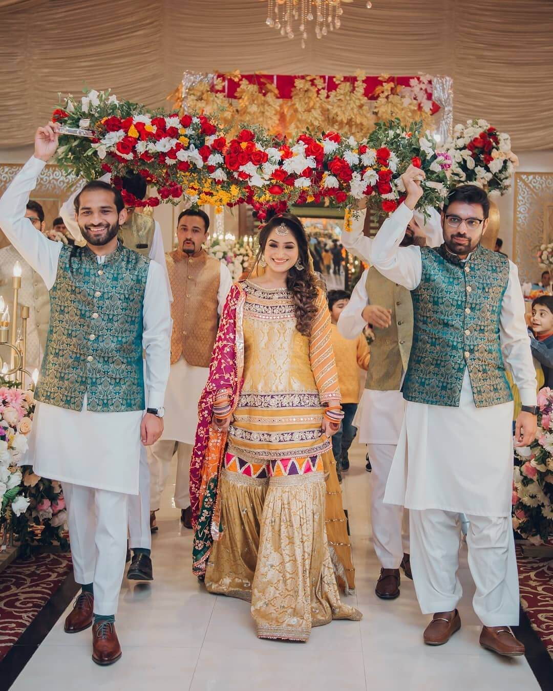 bridal entry ideas