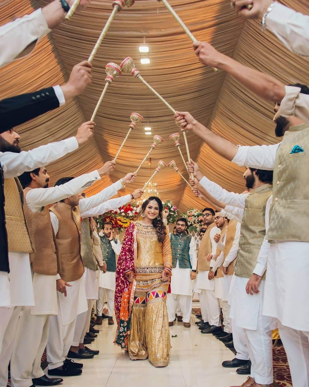 Pakistani Bridal Entry Shaadiwish