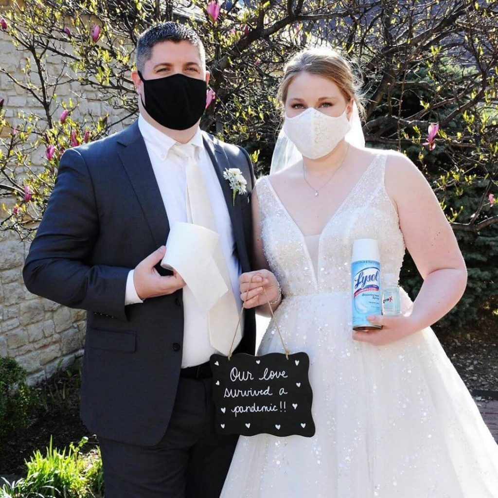 quarantine weddings