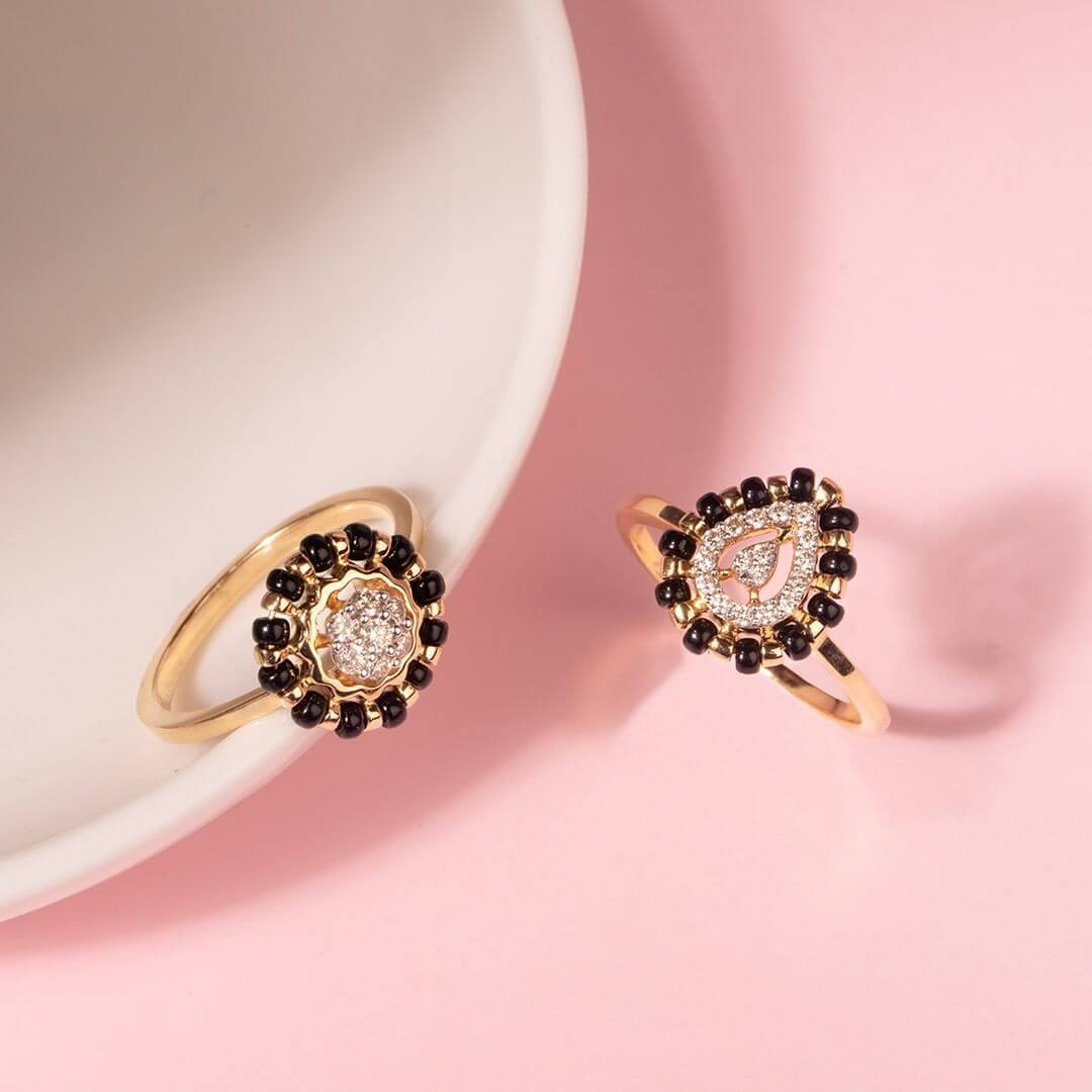 ring mangalsutra designs