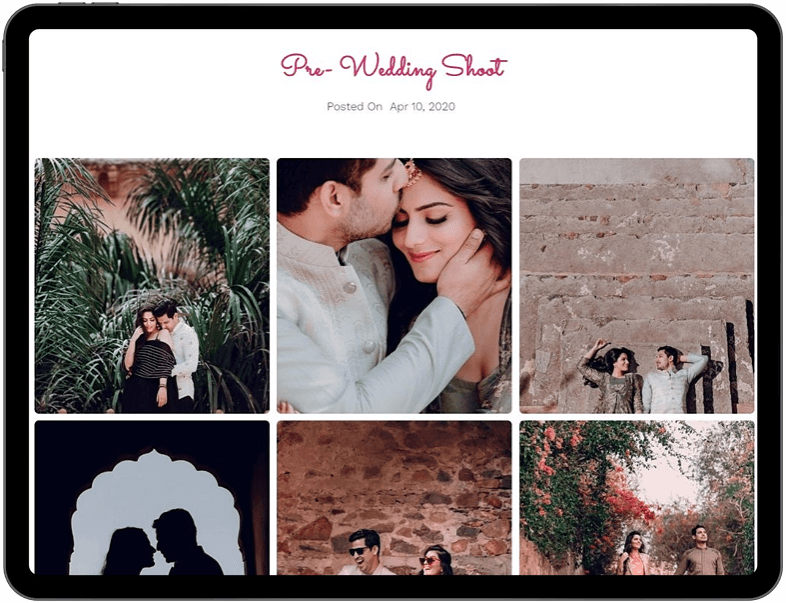 free wedding website