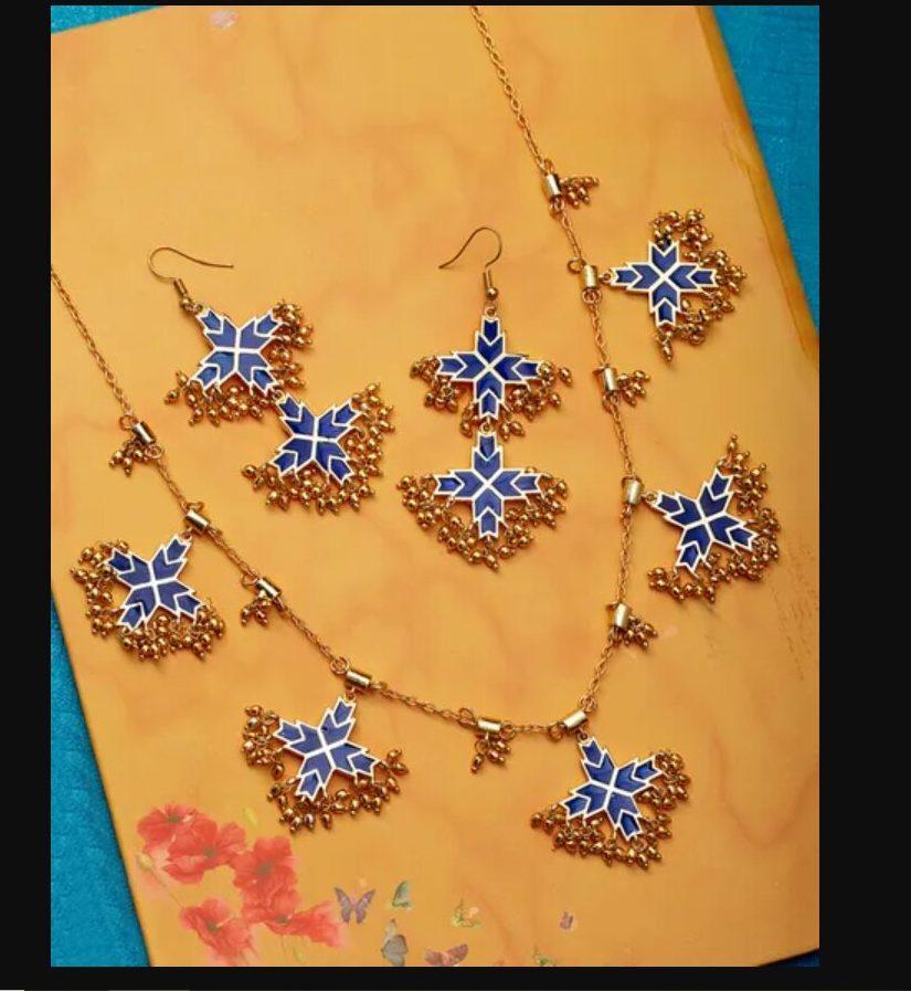 mehendi jewellery set