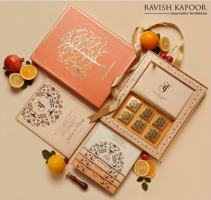 Ravish Kapoor Innovative Invitation