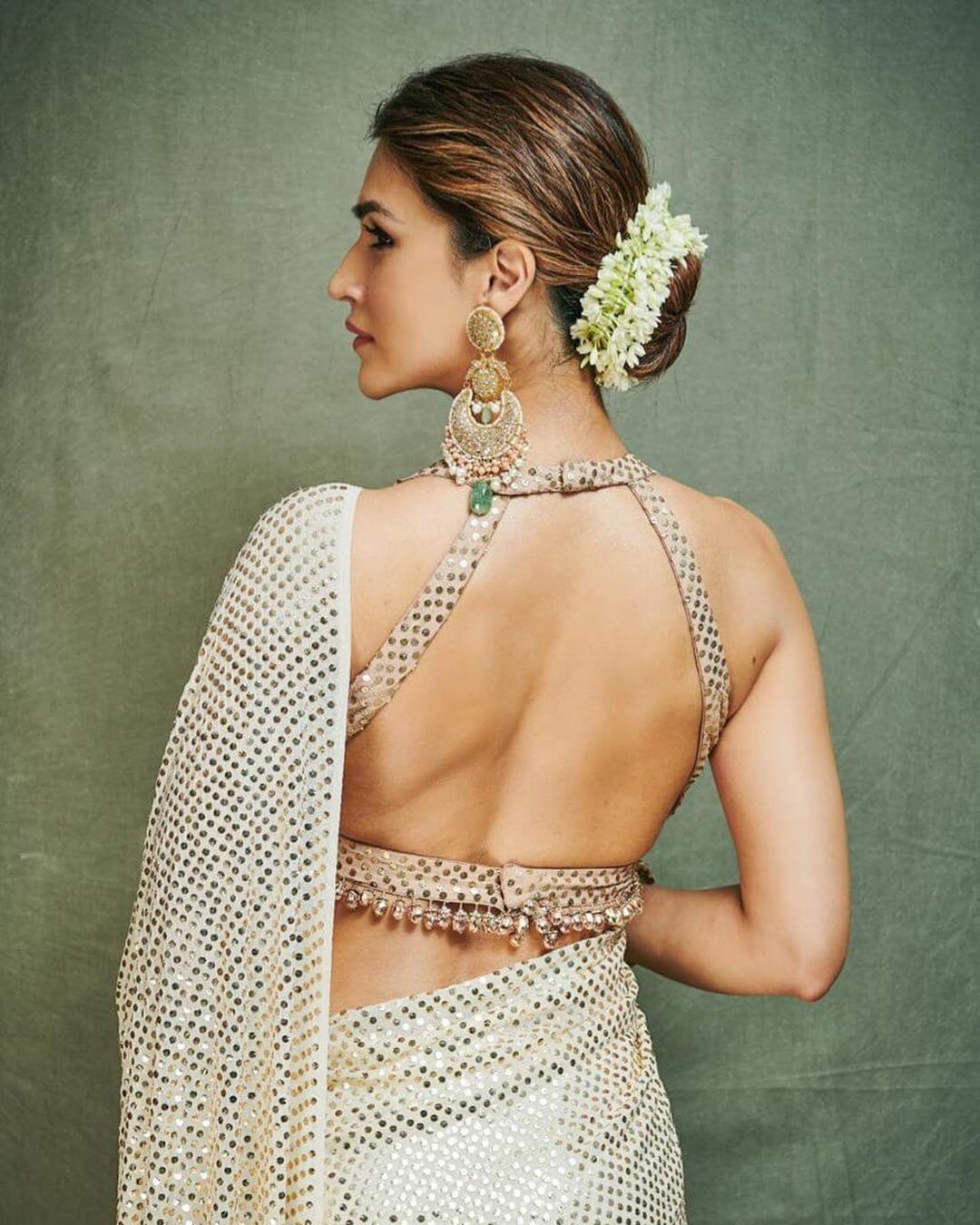 cocktail saree blouse