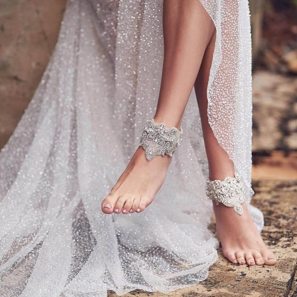 bridal anklets