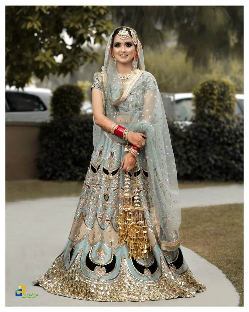 punjabi wedding attire