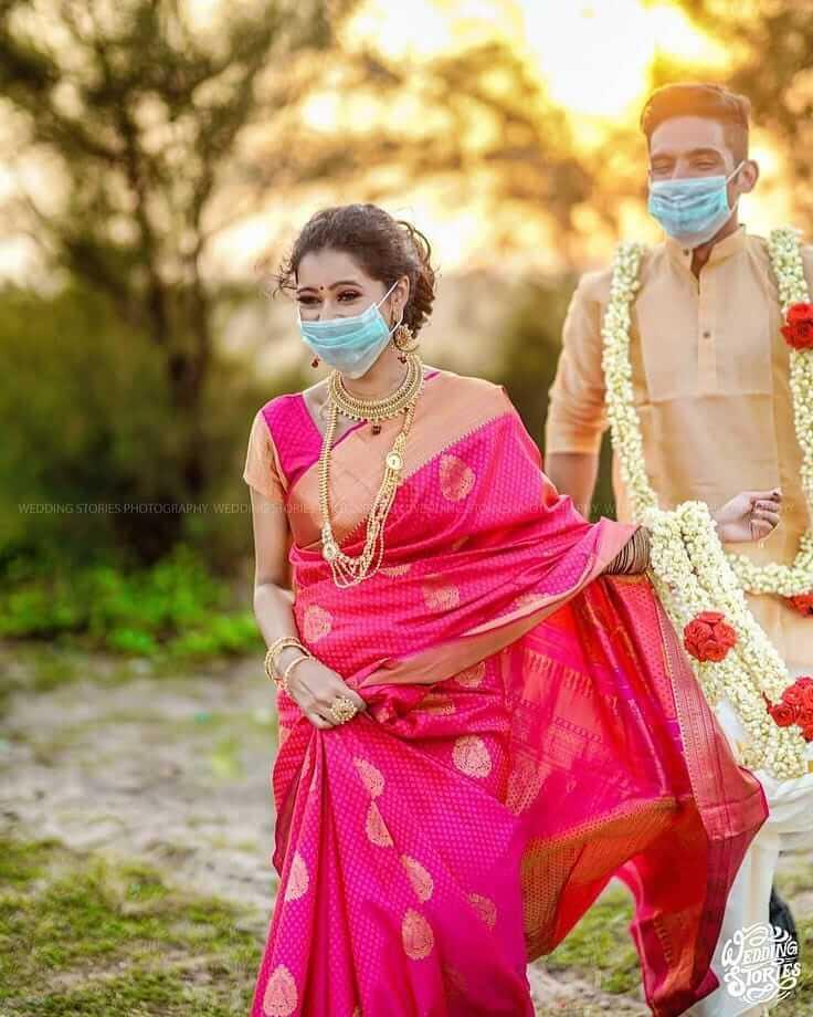bridal masks trends