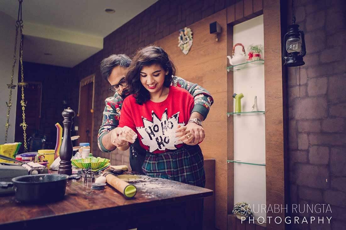 kitchen pre wedding shoot