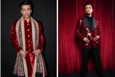 karan johar wedding outfits