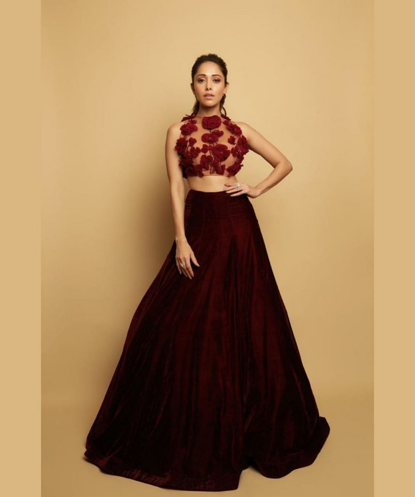 maroon bridal outfit ideas