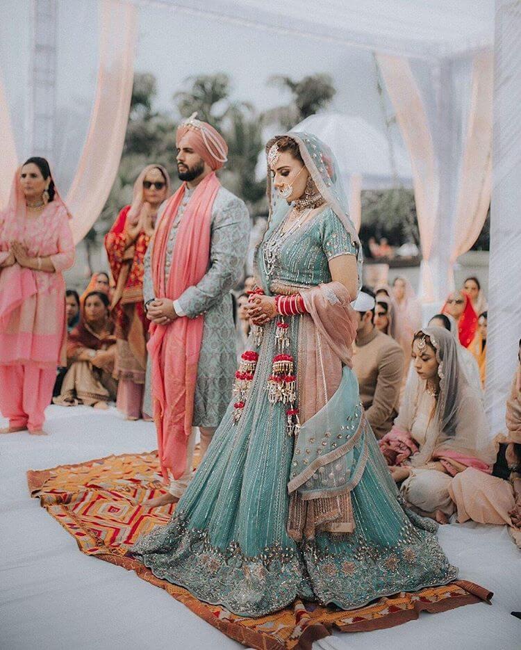 sikh wedding looks