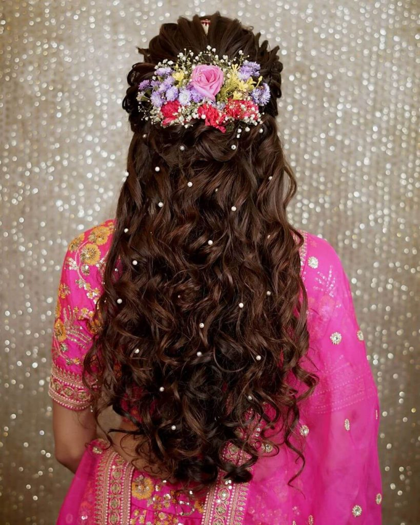 open bridal hairstyles