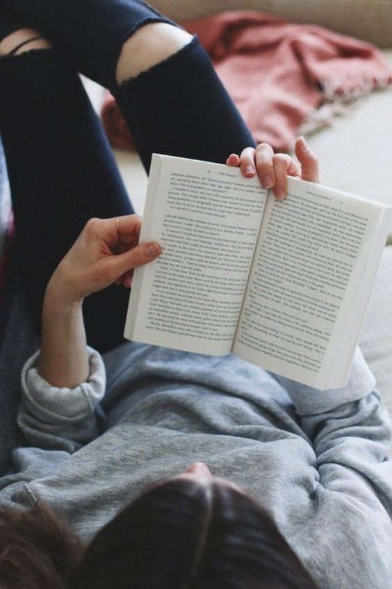 reading to avoid stress
