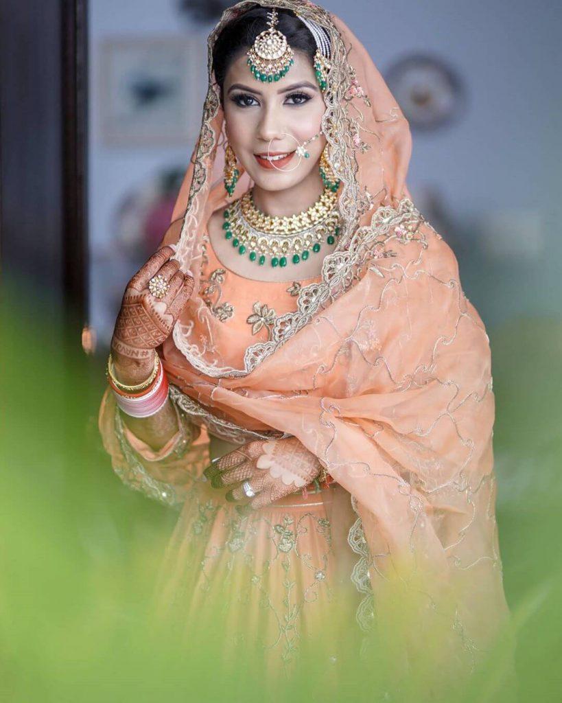 sikh bridal look