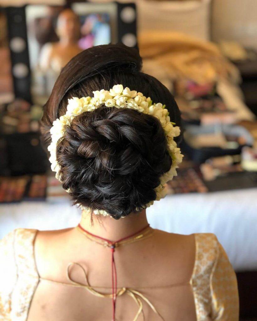 mogra bridal hairstyles