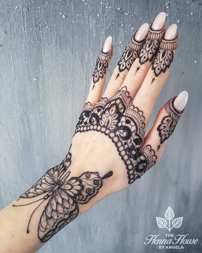 bridal mehendi trends