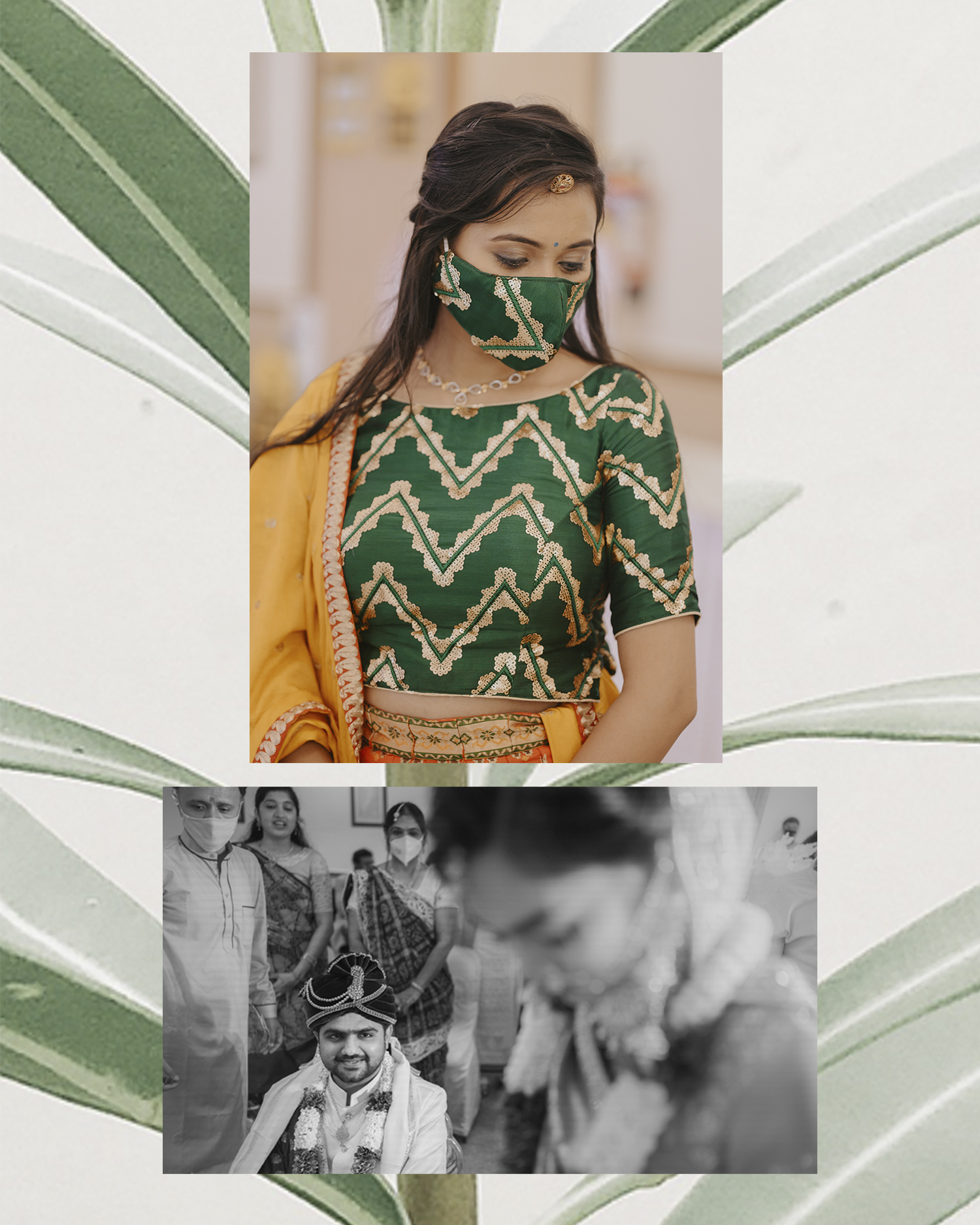 Intimate Mumbai wedding