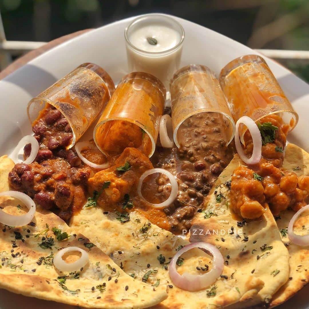 north Indian wedding food