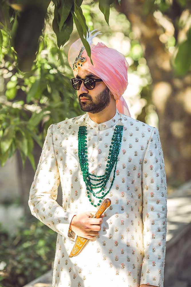 punjabi groom accessories