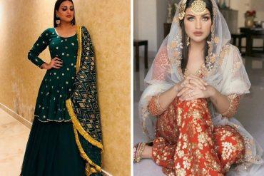 himanshi khurana outfits