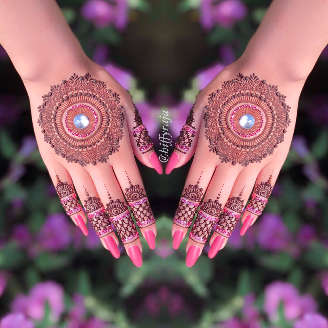 mandala henna designs