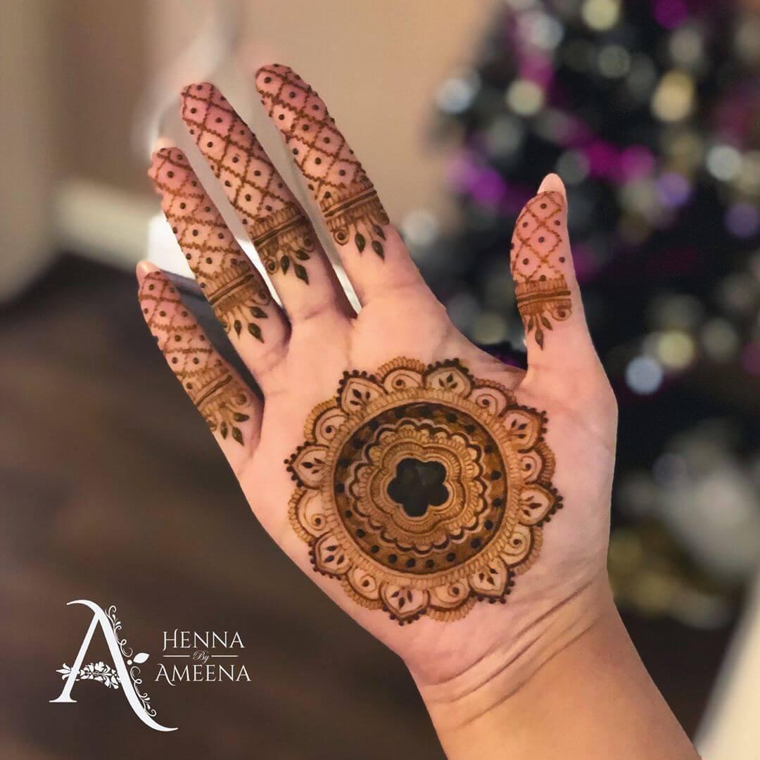 mandala mehendi designs