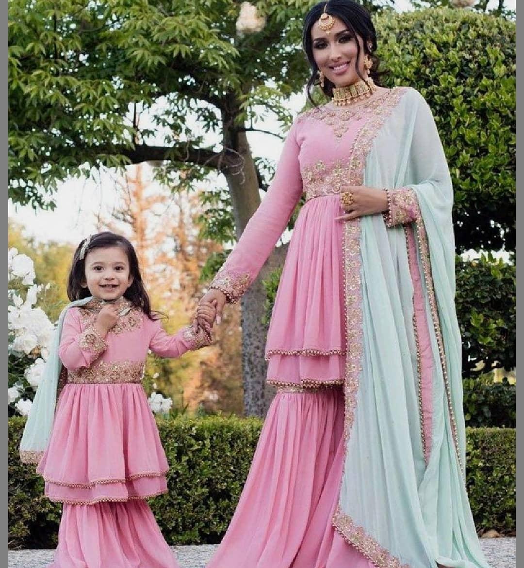 mother daughter duo dresses