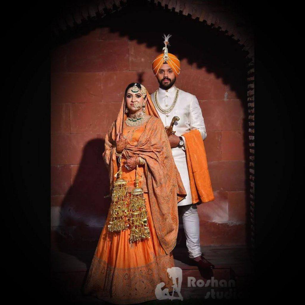 bridal lehenga kurti